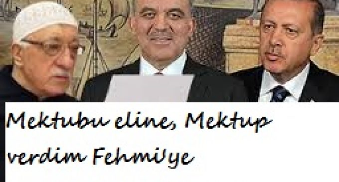 MEKTUBU ELİNE, MEKTUP VERDİM FEHMİ'YE (Gülen'in İç Sesi)