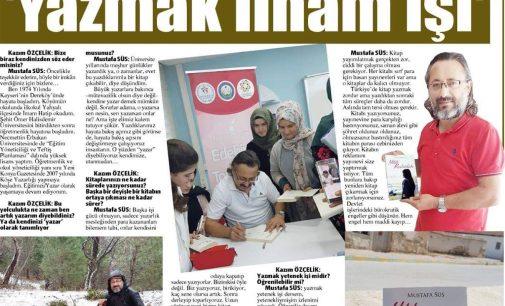 Yitik Kadınlar adlı kitabımızla ilgili Yeni Konya Gazetesi ile yaptığımız Röportaj